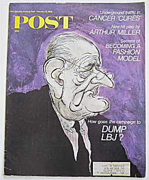 Saturday Evening Post February 10, 1968 Dump LBJ (Image1)