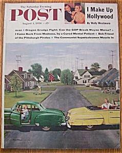 Saturday Evening Post Magazine - August 4, 1956 (Image1)