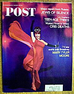 Saturday Evening Post Magazine-November 19, 1966 (Image1)