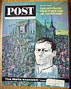 Saturday Evening Post Magazine - August 10 - 17, 1963 (Image1)