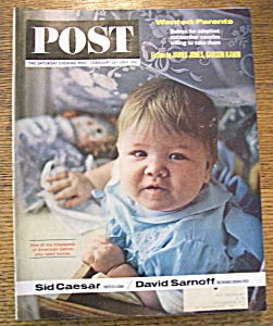 Saturday Evening Post Magazine - February 16, 1963