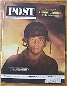 Saturday Evening Post Magazine - June 29, 1963