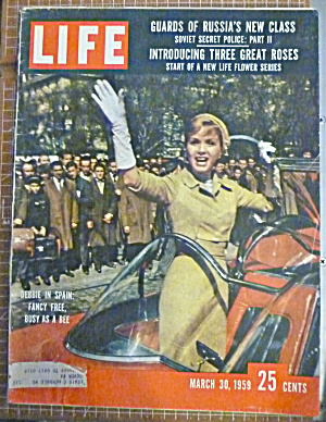 Life Magazine March 30, 1959 Debbie In Spain