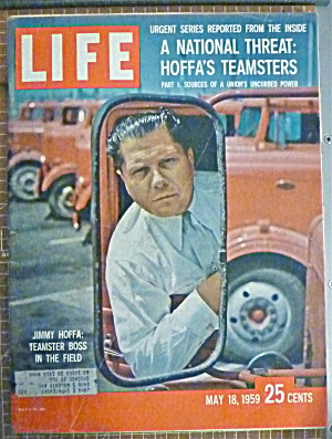 Life Magazine May 18, 1959 Jimmy Hoffa (Image1)