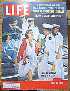 Life Magazine June 22, 1959 First Air Academy
