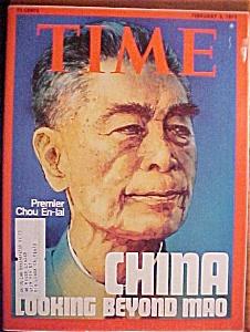 Time Magazine -Feb 3, 1975- Chinese Premier Chou En-Lai (Image1)