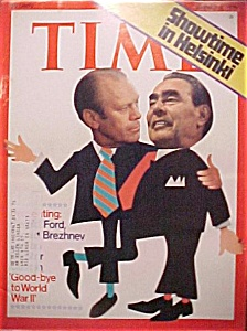Time Magazine - August 4, 1975 - Ford/Brezhnev Summit (Image1)