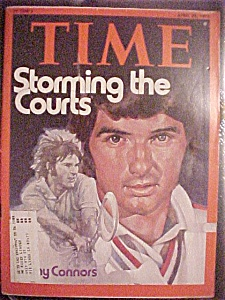 Time Magazine - April 28, 1975 - Jimmy Connors
