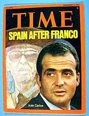 Time Magazine-November 3, 1975-Juan Carlos (Image1)