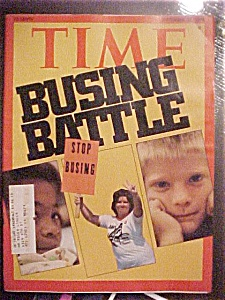 Time Magazine-september 22, 1975-busing Battle