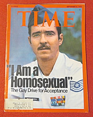Time Magazine-september 8, 1975-i Am A Homosexual