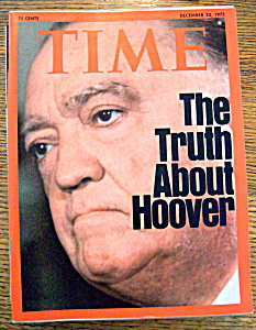 Time Magazine - Dec. 22, 1975 - J. Edgar Hoover