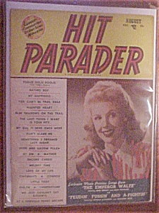 August 1948, Hit Parader - Marie Mcdonald Cover