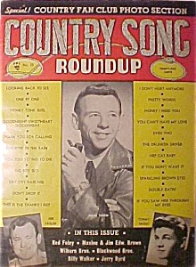 Country Song Roundup -november 1954 - Hank Snow