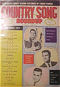 May 1962 Country Song Roundup