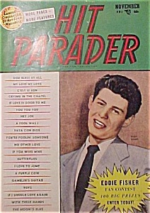 Hit Parader-november 1953- Eddie Fisher