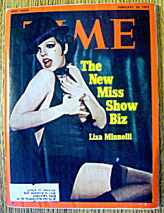 Time Magazine-February  28, 1972-Liza Minnelli (Image1)