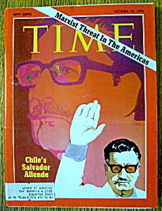 Time Magazine-october 19, 1970-chile's Salvador Allende