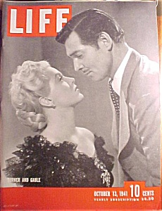 Life Magazine - October 13, 1941 - Turner And Gable