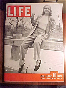 Life Magazine - April 20, 1942 - World War Ii