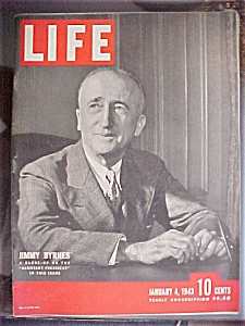 Life Magazine - January 4, 1943 - Jimmy Byrnes