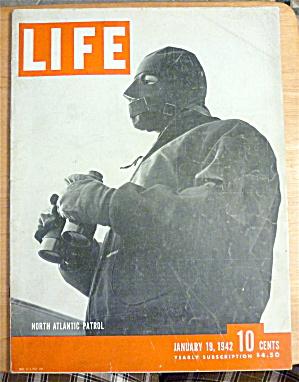 Life Magazine-January 19, 1942-North Atlantic Patrol (Image1)