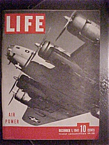 Life Magazine - December 1, 1941 - Wwii Air Power
