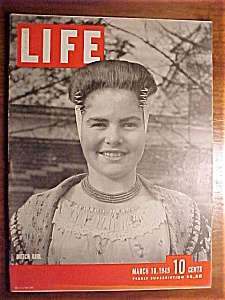 Life Magazine - March 19, 1945 - Betty Grable's Baby