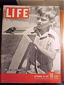 Life Magazine - September 29, 1941 - Joe Dimaggio