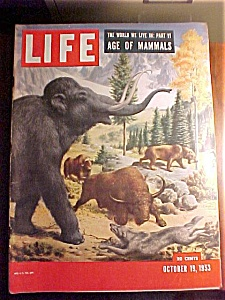 Life Magazine - October 19, 1953 - Comic Strip Dolls