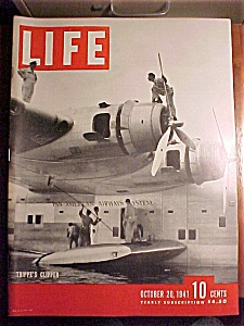 Life Magazine - October 12, 1941 - Trippe's Clipper