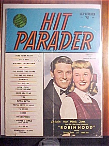 Hit Parader -sept 1952- Doris Day & Gordon Mac Rae