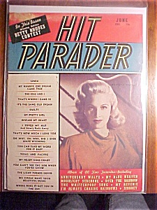 Hit Parader Magazine-marilyn Maxwell-june 1947