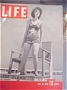 Life Magazine - July 29, 1940 - Ford's Grandson Weds