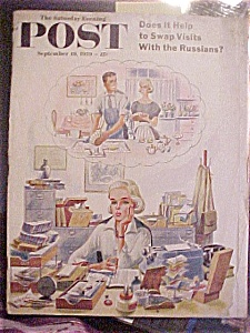 Saturday Evening Post Magazine - September 19, 1959