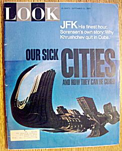 Look Magazine-September 21, 1965-JFK (His Finest Hour) (Image1)