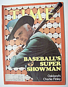 Time Magazine - August 18, 1975 - Charlie Finley (Image1)