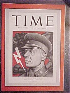 Time Magazine - July 27, 1942 - Marshal Timoshenko (Image1)