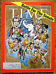 Time Magazine-October 26, 1970-Battle For The Senate (Image1)