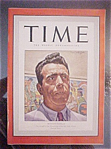 Time Magazine - April 6, 1942 - Mexico's Padilla
