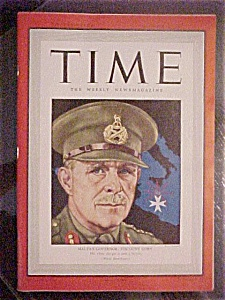 Time Magazine - October 26, 1942 - Malta's Governor
