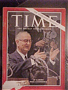 Time Magazine - May 1, 1964 - The Whirlwind President (Image1)