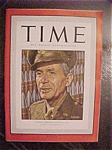 Time Magazine - June 15, 1942 - General Brehon Somervel