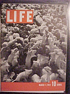 Life Magazine-march 1,1937-war On Cancer