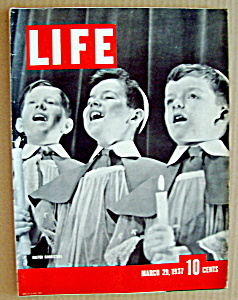 Life Magazine - March 29, 1937 - Easter Choristers