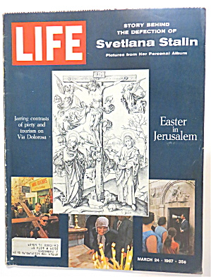 Life Magazine March 24, 1967 Svetlana Stalin