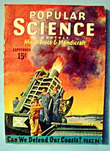 Popular Science Magazine - September 1940 (Image1)