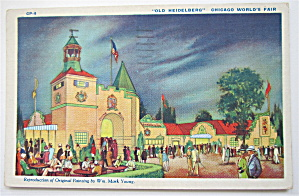 Old Heidelberg, Chicago World's Fair Postcard (Image1)