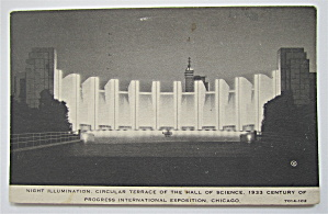 Circular Terrace Hall Of Science, Chicago Expo Postcard (Image1)