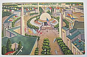 The Planetarium, New York World's Fair Postcard (Image1)